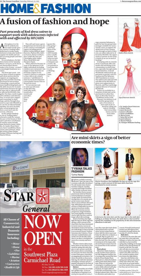 The Nassau Guardian -  February 25, 2012