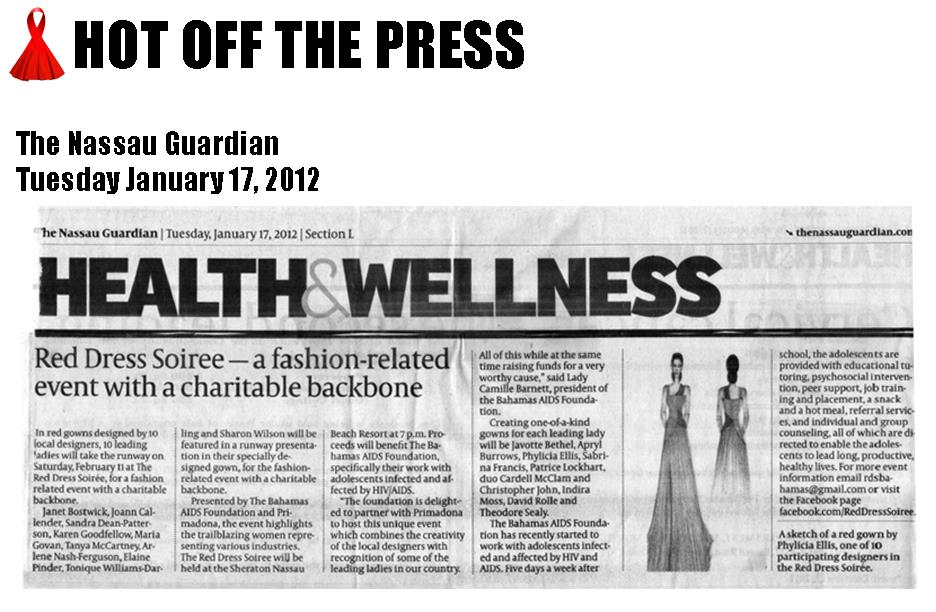 The Nassau Guardian - January 17, 2012
